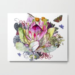 Magic Garden I Metal Print