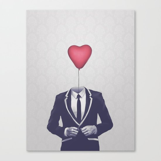 Mr. Valentine Canvas Print