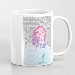 Badlands Lyrics (Gradient) Coffee Mug