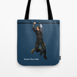 Hang In There, Baby (cat) Tote Bag