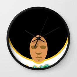 Love the 'Fro Wall Clock