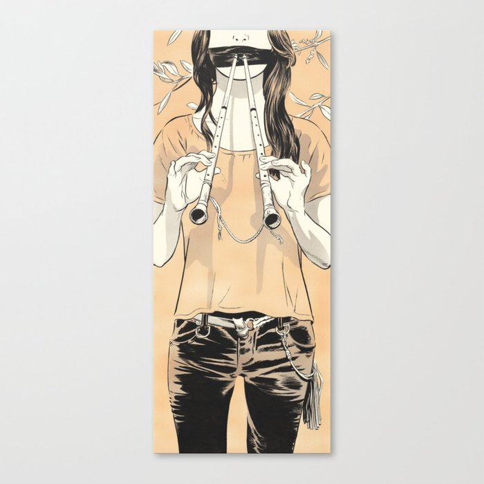 Aulos Canvas Print