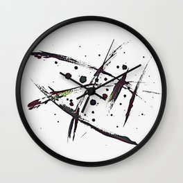 The Less You Know The Better (VIII) Wall Clock