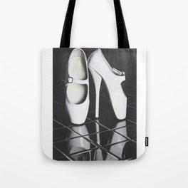 Ballet boots Tote Bag