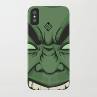 hulk iPhone & iPod Cases featuring Hulk by illustrationsbynina