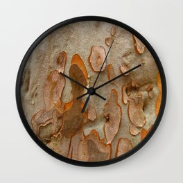 Red Gum Wall Clock