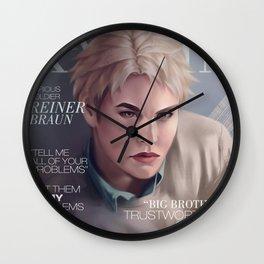 Snk Magazine: Reiner Wall Clock