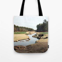 Golf Creek Winding Tote Bag