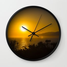 Magical Horizons Malibu Wall Clock