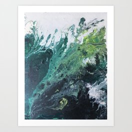 Witch's Woods Art Print