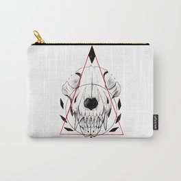 WOLF SKULL INKTOBER Carry-All Pouch