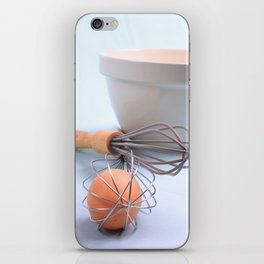The Egg and The Whisk  iPhone Skin