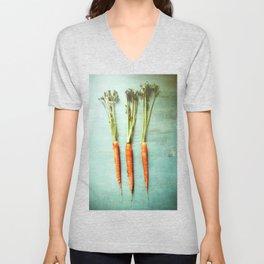 Eat Your Vegetables Unisex V-Neck