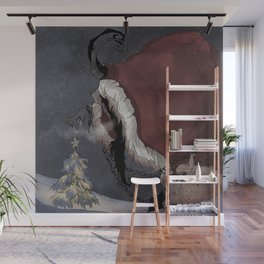 Krampus Christmas Wall Mural