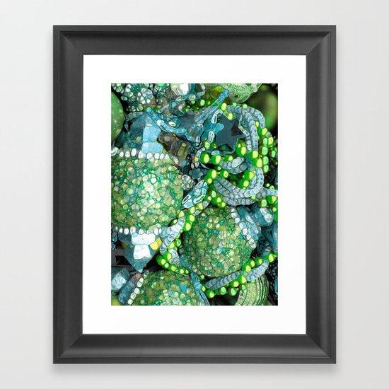 Sea Bling Framed Art Print