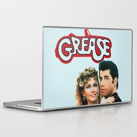 grease Laptop & iPad Skins featuring Grease  by Dora Birgis
