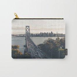 Bay Bridge - San Francisco, CA Carry-All Pouch