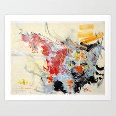 09 Wolf Art Print