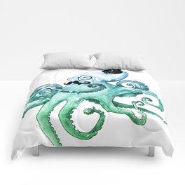 Dapper Octopus Comforters