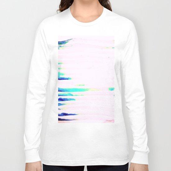 Colorful Seaside Stripes Long Sleeve T-shirt