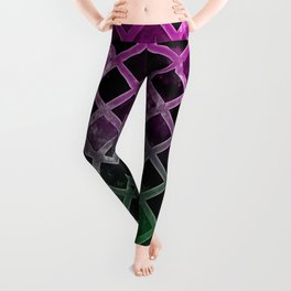 Abstract Geometric Background #7 Leggings
