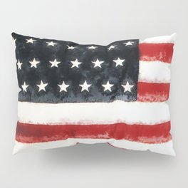USA Flag ~ American Flag ~ Ginkelmier Inspired Pillow Sham