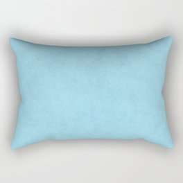 Speckled Texture - Pastel Baby Sky Blue Rectangular Pillow