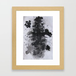 Ink Blot  Framed Art Print