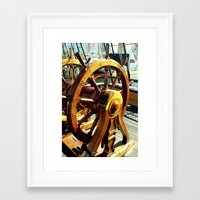 christian schloe Framed Art Prints featuring Mr. Christian by Kam Minatrea