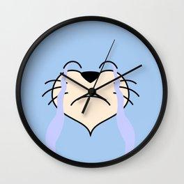 Cat Face 03 Design 03 Wall Clock