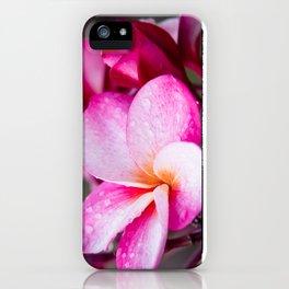 Pua Melia Floral Celebration iPhone Case