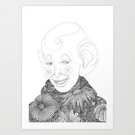 playful spirit Art Print