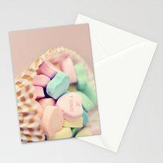 Je T'aime Valentine Stationery Cards