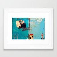 greek Framed Art Prints featuring Greek by Alec Goss