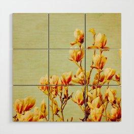 wednesday's magnolias Wood Wall Art