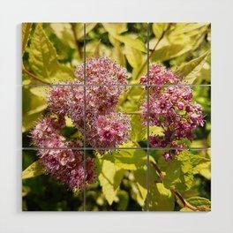 Lilac flowers Wood Wall Art