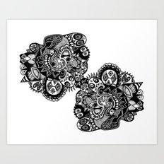 Snakepit Art Print