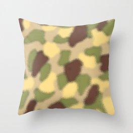 Camo Ripple Throw Pillow