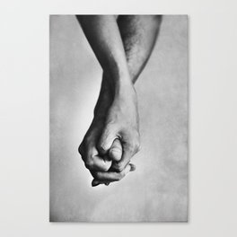 Hold me tight Canvas Print