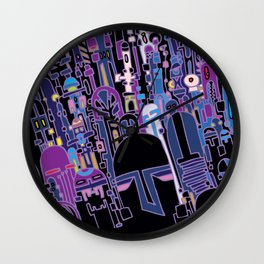 SILICON VALLEY HIGH Wall Clock