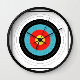 Marksman Target Grouping Wall Clock
