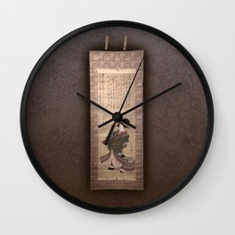 Mysticism collection Wall Clock