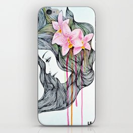 Unconscious conversation with...  iPhone Skin