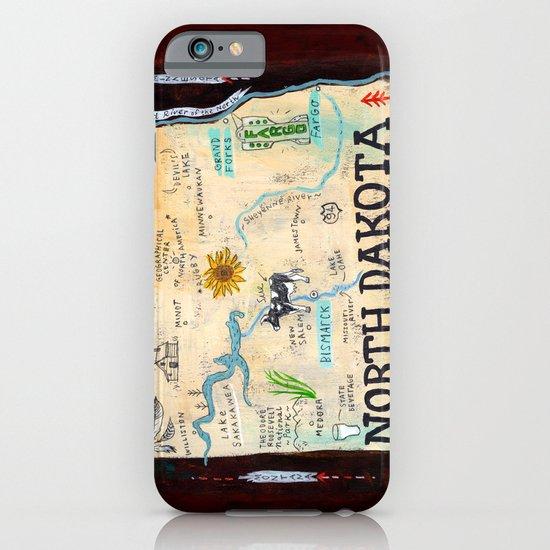 NORTH DAKOTA iPhone & iPod Case