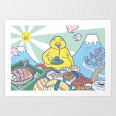 Boushoku's Paradise Art Print