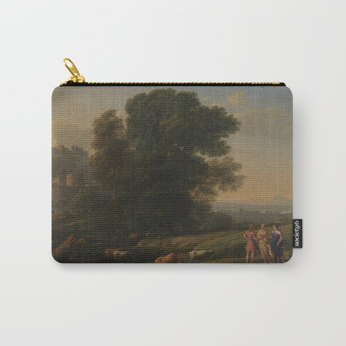 Landscape with Cephalus and Procris reunited by Diana - Claude Carry-All Pouch