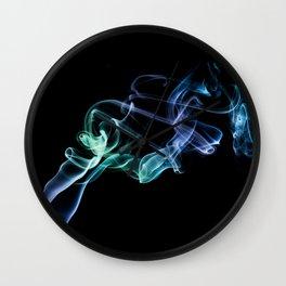 Smokey 4 Wall Clock