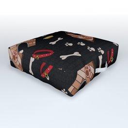 Doggy Paradise Outdoor Floor Cushion