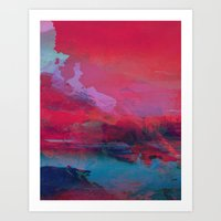 tchmo Art Prints featuring Untitled 20150726s by tchmo