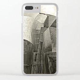 Guggenheim museum, Bilbao Spain Clear iPhone Case
